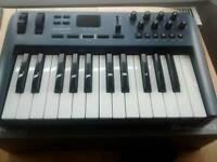 M audio oxygen 25 USB Midi Keyboard