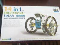 Educational Solar Robot - 14 in 1 Kit