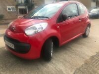 Citroen c1 with one year mot,road tax £20 for year