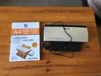 Intey A4 thermal laminator
