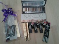 JOBLOT NAKED 2 PALETTE EYE LIP LINER LIPSTICKS GIFT WRAPPED