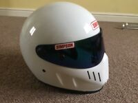 Simpson Bandit helmet street fighter Yamaha LC