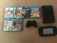 Wii U for sale with Pro Controller and 8 Games IMMACULATE CONDITION