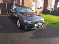 Audi A4 Sline - 83k miles, lots of extras, Bang and Olufsen speakers, full service history, Sat Nav