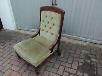Edwardian Lady's Chair