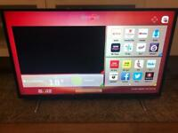 """Hitachi 43"""" Smart WiFi Full HD with Freeview play"""