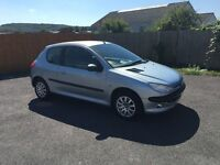 PEUGEOT 206 VERVE 1.4i 03-03 113K MOT MAY 2017 CLEAN CAR THROUGHOUT DRIVES ALL GOOD ONLY £499