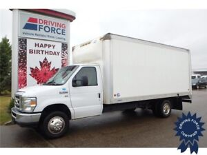 2015 Ford E-350 16 ft Cube Van