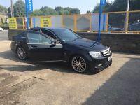 Mercedes C220 AMG sport auto diesel blue-effienicy