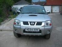 Nissan Navara D22 4x4 2004 2,5 tdi
