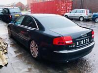 Audi A8 4.0 tdi (2003) Quattro auto ( quick sale)