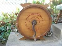 Hall Brothers Company Butter Churn