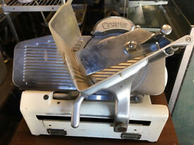 "USED CRYPTO 12""meat Slicer Machine"