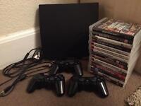 PlayStation 3 Slim 500GB with 15 games
