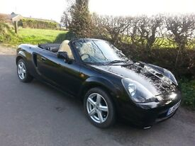 TOYOTA MR2 ROADSTER - LOW MILEAGE - LEATHER +HARDTOP+LUGGAGE RACK - VGC THROUGHOUT