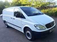 06 reg Mercedes vito 109 cdi 2.1 diesel long wheel base panel van NO VAT