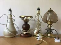 4 lamps mixed designs