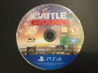 PlayStation 4/PS4 Battle Grounds...