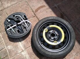 Seat Leon Spare Wheel Kit - never used excellent condition
