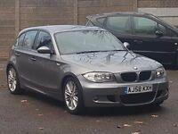 BMW 1 Series-M sport- Hatchback- 58plate-Diesel- Manual- 5dr- Alarm System-Heated Rear Screen