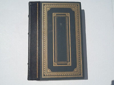 Crime And Punishment By Feodor Dostoevsky Hardback Book Franklin Library Blue