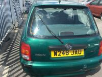 Nissan micra very cheap £240ono