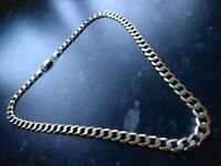 9ct.gold curb chain 40g