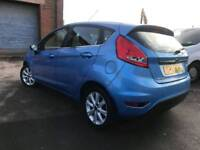 ford fiesta 1.4 petrol low milage