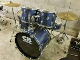 CB Drum Kit inc Hardware & Cymbals