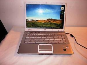 Used HP DV6000 Dual Core Laptop with Webcam and Wireless (delivery available within TRI-CITY)