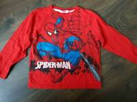 Mothercare spider-man top