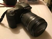 Canon EOS 60D with 18-135 lens