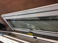 Double glazed window gray