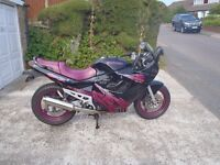 Suzuki GSX600f 1995. MO.T. July 2017. A clean, reliable and low mileage example.