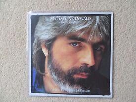 Michael McDonald 'Sweet Freedom' Original vinyl LP