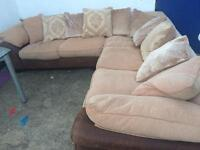 Dfs large corner sofa, excellent condition. Can deliver