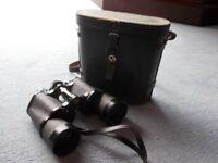 Swift Tecnar 16 x 50 Binoculars in Leather Case