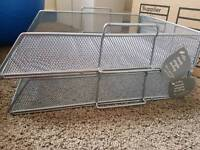 LETTER TRAYS X6 MESH NEW