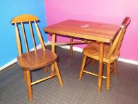 Vintage Kids Table & Chair Set (solid maple)