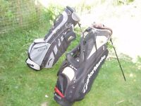 TaylorMade R7 stand/carry bag and Sun Mountain lightweight stand/carry bag for sale