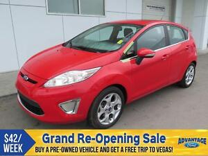 2012 Ford Fiesta SES Moonroof.
