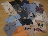 SELECTION OF BABY BOYS CLOTHES (REDUCED PRICE)
