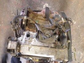 2004 low mileage Fiat Punto 1.2 8V engine