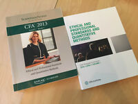 CFA Level 1 - CFA & Schweser books available for sale