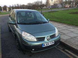 Renault scenic 2004 1.6 Petrol AOUTMATIC LOW MILEAGE