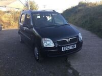 52 reg Vauxhall agile 1200 cc engine in very clean condition in black very good driver any trial