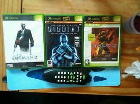 XBox games and remote