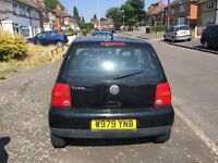 I have bought a new car today and i am selling my VW Lupo at a very reasonable price.Mot until 2017.