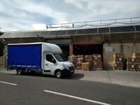 Man and a large van for hire, removals, same day courier, local transport services
