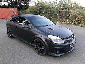 2007 VAUXHALL ASTRA VXR,MATTE BLACK, HALF LEATHERS, KEYLESS, VXR PRIVATE PLATE , PARKING SENSORS